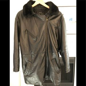Tannery West Leather Coat